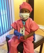 Lil Surgeon Homemade Costume