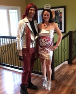 Lil' Sweet and Diet Dr. Pepper Homemade Costume