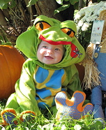 Lil Tree Frog Costume