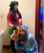 Lilo and Stitch Homemade Costume