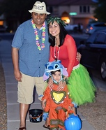 Lilo and Stitch Family Homemade Costume