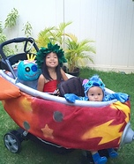 Lilo and Stitch Rocket Homemade Costume