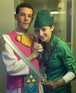 Link and Princess Zelda Costume