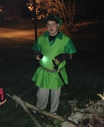 Link from the Legend of Zelda Homemade Costume