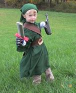Link from Zelda Homemade Costume