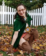 Linkle from Hyrule Warriors Homemade Costume