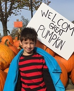 Linus Homemade Costume