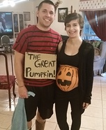 Linus and the Great Pumpkin Homemade Costume