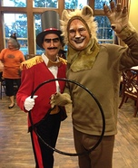 Lion and Lion Tamer Couples Costume