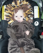 Lion Baby Homemade Costume