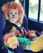 Lion Girl Homemade Costume