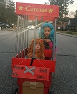 Lion in the Cage Homemade Costume