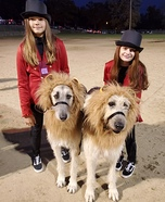Lion Tamers Homemade Costume