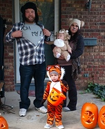 Lion, Tigers, Bears Oh My! Homemade Costume