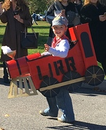LIRR Steam Engine Homemade Costume