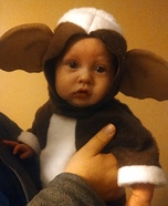 DIY baby costume ideas: Lil' Gizmo Baby Costume