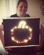 Lite Brite DIY Halloween Costume