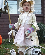 DIY Little Bo Peep Costume
