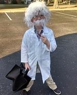 Little Albert Einstein Homemade Costume