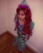 Little Ariel Costume
