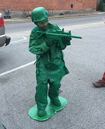 Little Army Guy Homemade Costume