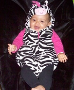 Little Baby Zebra Costume