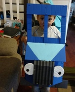 Little Blue Truck Homemade Costume