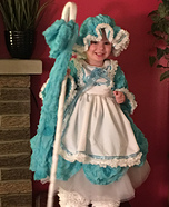 Little Bo Peep Homemade Costume