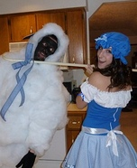 Little Bo Peep and her Sheep Couple Costume
