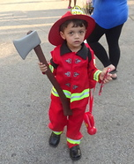 Little Boy Fireman Costume