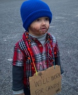 Cutest Halloween costumes for babies - Little Hobo Costume