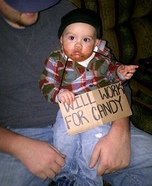 Little Hobo DIY Halloween Costume