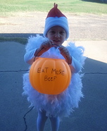 Little Chicken Costume DIY