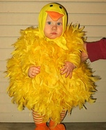 Little Chickie Homemade Costume