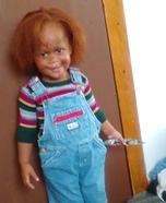 Little Chucky Homemade Costume