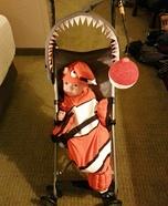Little Clown Fish Homemade Costume