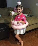 Little Cupcake Girl Homemade Costume