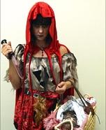 Little Dead Riding Hood Homemade Costume