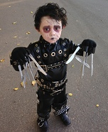Edward Scissorhands Baby Costume