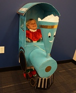 Children's book Halloween costumes - Little Engine That Could Costume