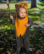 Little Ewok Homemade Costume