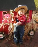 Little Farmer Baby Homemade Costume