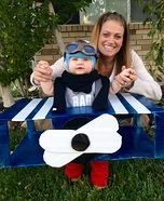 Little Fighter Pilot Homemade Costume