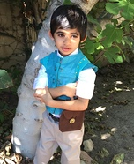 Little Flynn Rider Homemade Costume