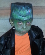Little Frankenstein Monster Homemade Costume