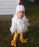 Little Free Range Chicken Homemade Costume