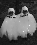 Little Ghosts Homemade Costume