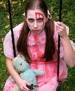 Little Girl Lost Her Mind Costume