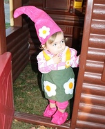 Homemade Gnome Baby Costume