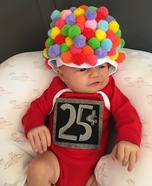 Little Gum Ball Homemade Costume